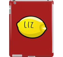 Liz Lemon the Lemon iPad Case/Skin