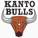 Kanto Bulls by pixelwolfie