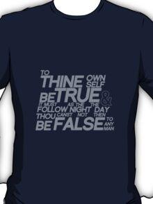 Hamlet  I, III T-Shirt