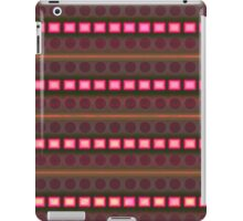 Pink rectangles on beautiful background iPad Case/Skin