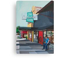 Waiting for Stevie Ray Canvas Print