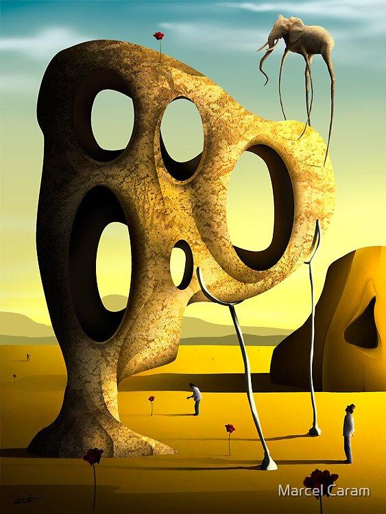 O Elefante. by Marcel Caram