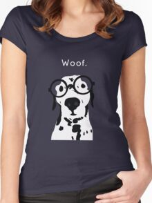 Snip the Dalmation Women's Fitted Scoop T-Shirt