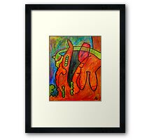 Peas and Carrots in African Rift Valley Framed Print