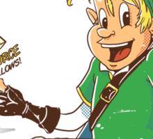 Link's Krispies Sticker