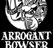 Arrogant Bowser Ale by TShirtsHermanos