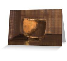 Raku Cup Greeting Card