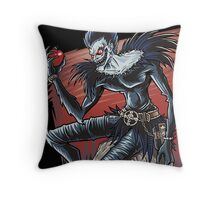 Death and Apples Throw Pillow