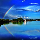 reflected rainbow  by thehylian