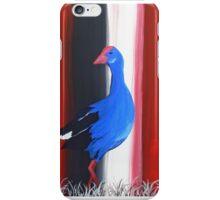 Canterbury Pukeko, New Zealand Swamp Hen iPhone Case/Skin