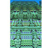 Aliën skyscraper, abstract fractal art Photographic Print