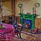 The Parlour Drumnahunshin Farmhouse, Cultra, County Down by Laura Butler