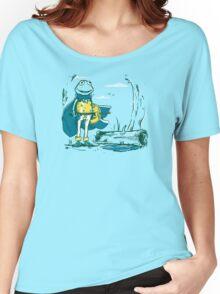 Kaeru the frog Women's Relaxed Fit T-Shirt