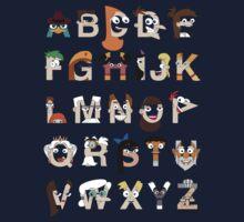 P&F Alphabet One Piece - Long Sleeve