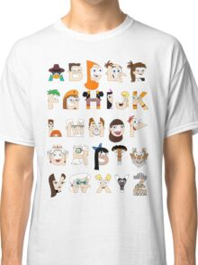 P&F Alphabet Classic T-Shirt