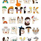 P&amp;F Alphabet by Mike Boon