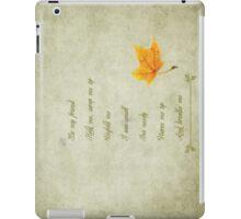 Breathe me~ iPad case iPad Case/Skin