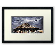 Krishna Framed Print