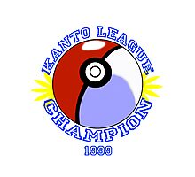 Kanto League Champion Photographic Print