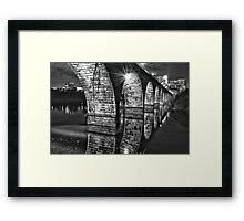 Stone Arch Bridge Framed Print