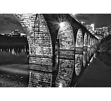 Stone Arch Bridge Photographic Print