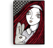 LIttle Red Alice Canvas Print
