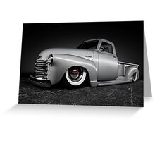 1950 Chevrolet Pickup Greeting Card