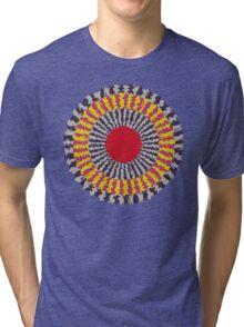 tutu cork geo Tri-blend T-Shirt