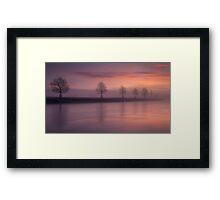 Lazonby Sunrise Framed Print