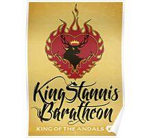 Stannis Baratheon Sigil Poster II Poster