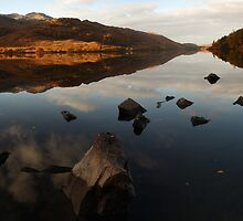 Dawn...Loch Eilt. by John Cameron