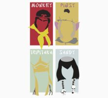 Monkey Magic 4 Kids Tee