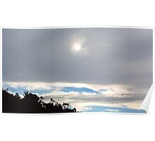 Stormy Cloudy Skies Poster