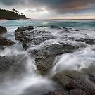 Secret Beach - Kauai by Michael Treloar