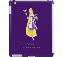 Mad Alice: To Each his Own iPad Case/Skin