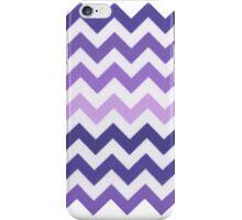 Purple Chevron Ombre iPhone Case/Skin