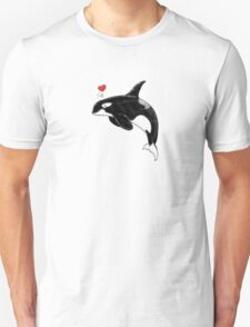 Cute Killer Whale T-Shirt