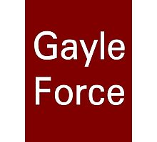 Chris Gayle - Gayle Force  Photographic Print