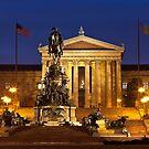 Philadelphia Museum Of Art by Marty Straub
