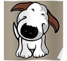 Really? Bull Terrier Poster