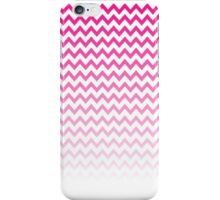 Pink Ombre Chevron iPhone Case/Skin