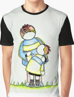 Choosing to Love : Father and Child Graphic T-Shirt