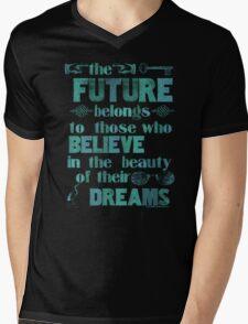 Future - light blue Mens V-Neck T-Shirt