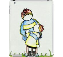 Choosing to Love : Father and Child iPad Case/Skin