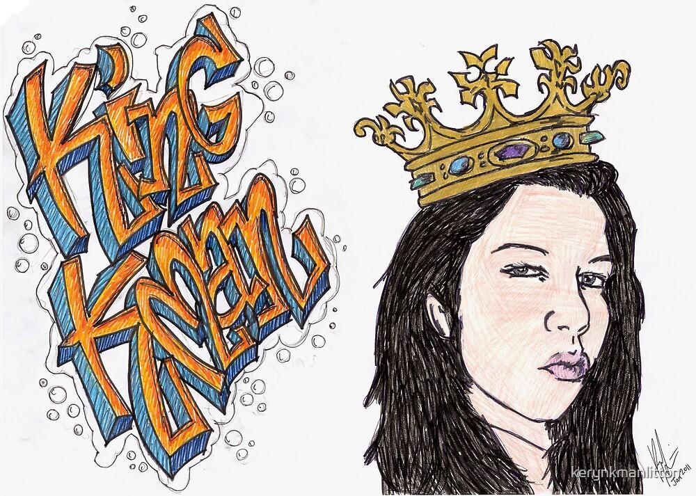 King Kman by kerynkmanlitton