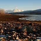 Ben Nevis from Loch Eil. by John Cameron