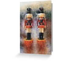 Nutcracker Guards Greeting Card