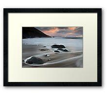 Cinnard - Co kerry Ireland  Framed Print