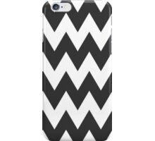 Black + White Chevron iPhone Case/Skin