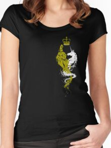 The Lion and the Unicorn Women's Fitted Scoop T-Shirt